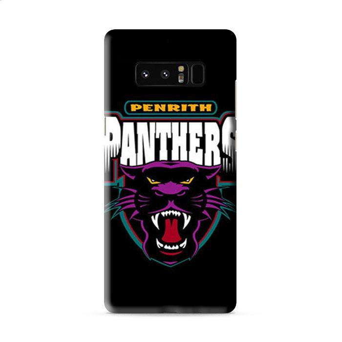 PENRITH PANTHERS BLACK Samsung Galaxy Note 8 3D Case Caseperson