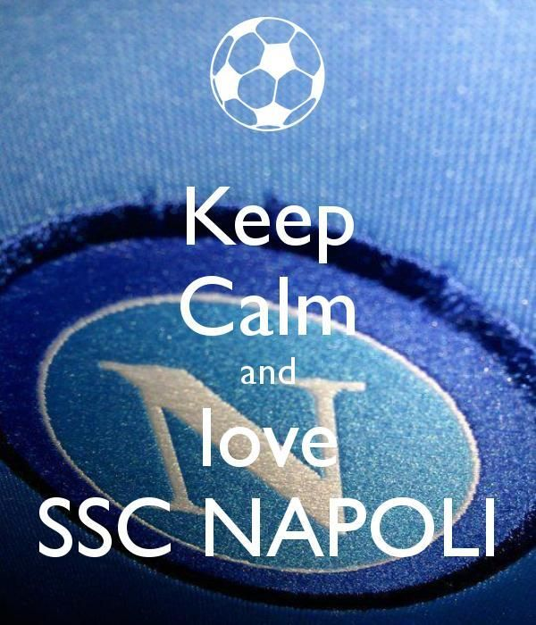 Keep Calm and Love Ssc Napoli