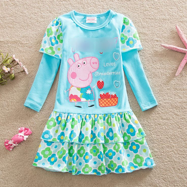 $7.72 (Buy here: https://alitems.com/g/1e8d114494ebda23ff8b16525dc3e8/?i=5&ulp=https%3A%2F%2Fwww.aliexpress.com%2Fitem%2Fbaby-girls-dress-long-sleeve-children-printed-fashion-cartoon-pig-princess-dress-for-girls-summer-children%2F32761414831.html ) baby girls dress long sleeve children printed fashion cartoon pig princess dress for girls summer children clothes baby dresses for just $7.72