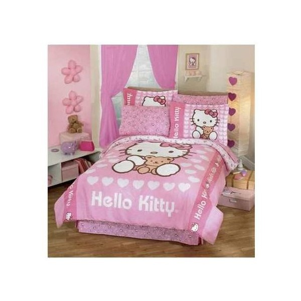 Hello Kitty Bedroom Decorating Liked On Polyvore