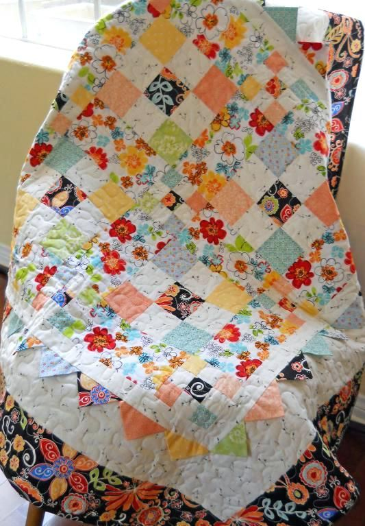 9 Patch Quilt Patterns For Beginners 4 Ideas Baby Nine Patches Via Craftsy Member