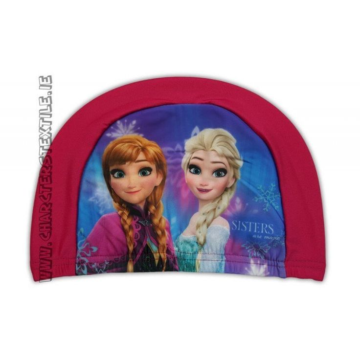 Lightweight easy stretch Spandex fabric which is quick drying and machine washable Girls Disney Frozen swimming hat.This frozen swimming capare not waterproof but are perfect for use in pools for fun / hygiene or to keep the hair back and in place.Suggested age from 2-10 years one si