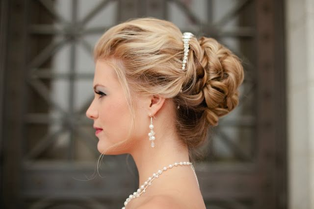 cinderella hairstyle wedding