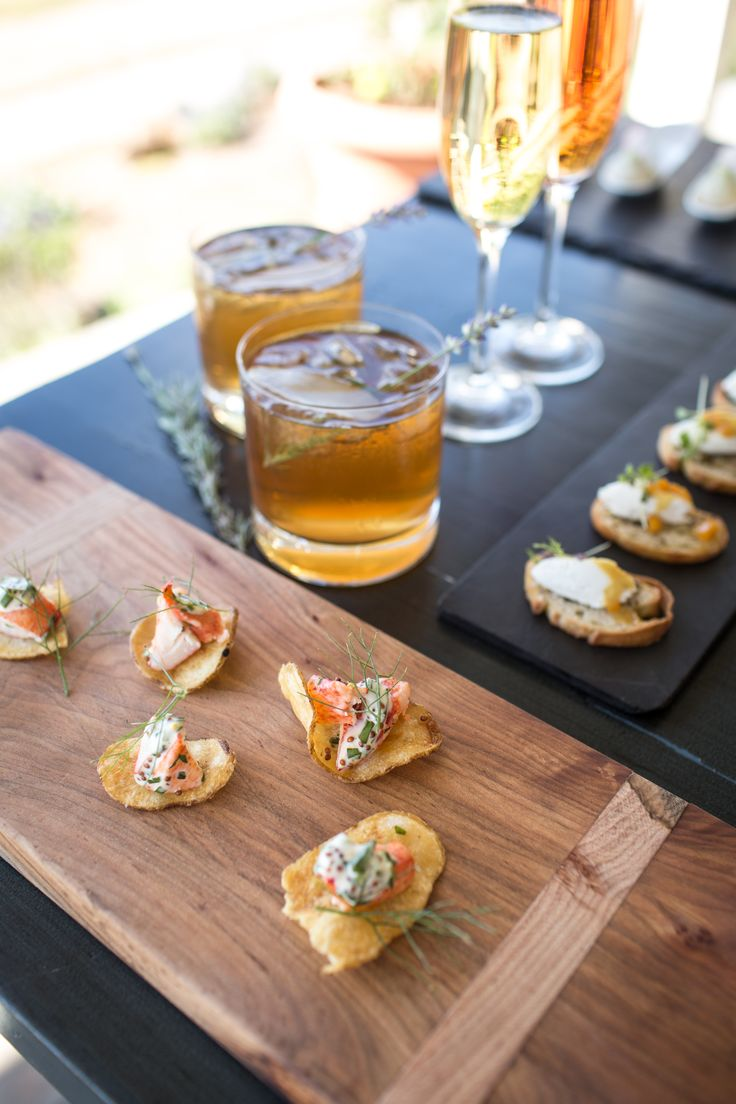 25 best images about spring summer wedding menu 2016 on for French canape menu
