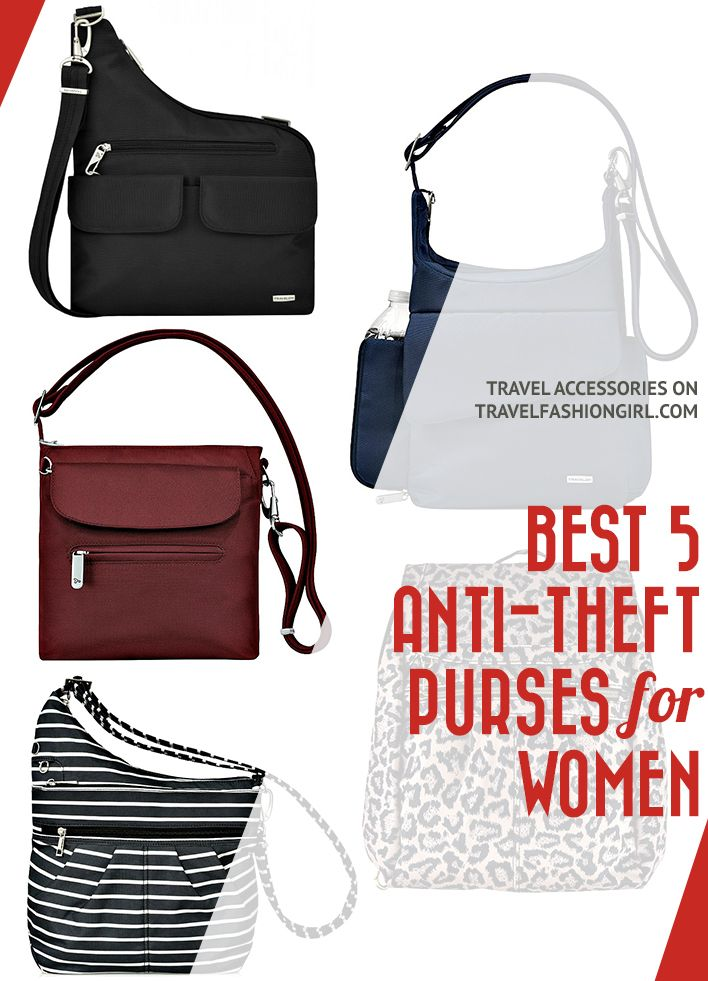 5 Best Anti Theft Travel Bags For Women 2019