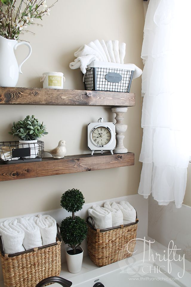 diy floating shelves just like the ones from fixer upper make 2 of these for