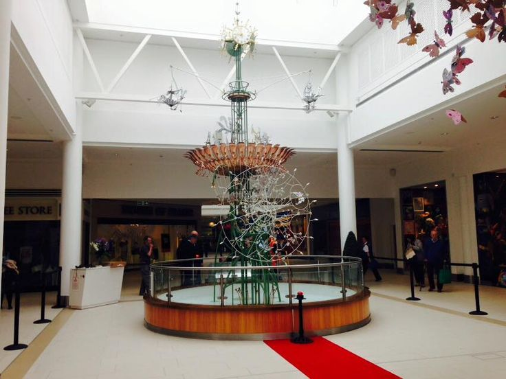 Emmet clock is now restored and looking shiny in its new location in the Victoria Centre. June 2015