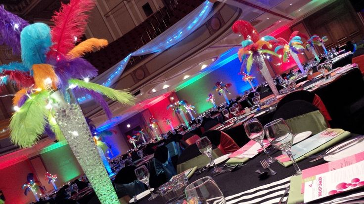 #Circus theme #feathers