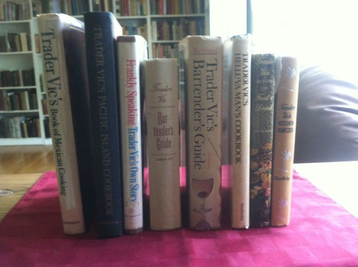 8 great books by Trader Vic