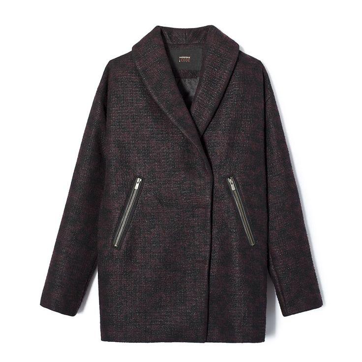 1000 idee su manteau femme ikks su pinterest manteau ikks ikks femme e manteau femme jacquard. Black Bedroom Furniture Sets. Home Design Ideas