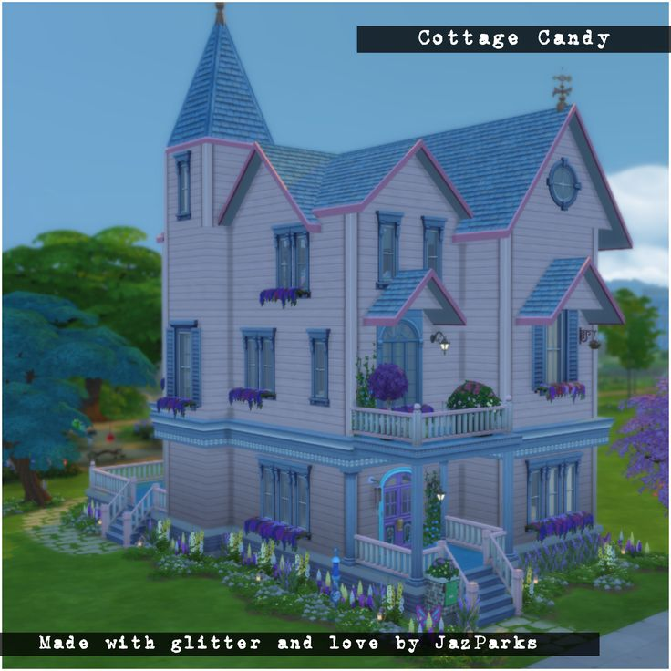 Cottage Candy. Find it on the Sims 4 Gallery JazPark5