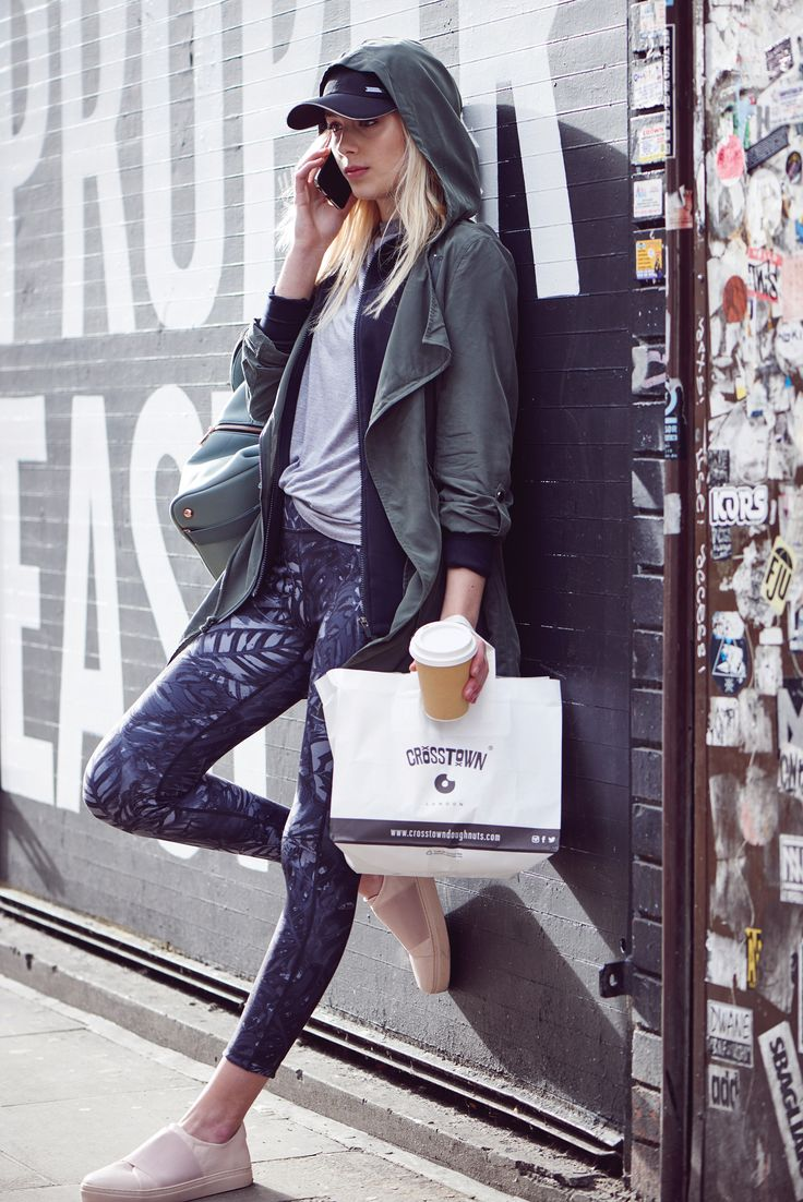 High stretch leggings = more room for doughnuts #REVERSEIT