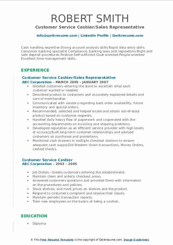 Emt Job Description Resume Awesome Customer Service