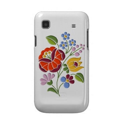 Kalocsa embroidered IPhone case.