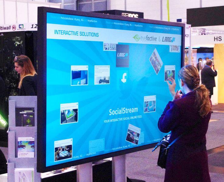 eyefactive presents awarded interactive solutions at viscom 2015