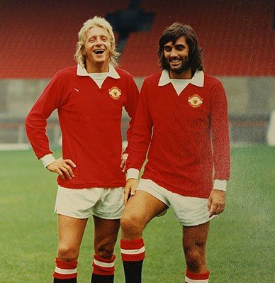Denis Law and George Best