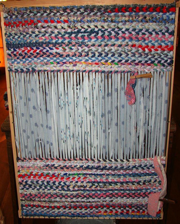 Loom, Rug Loom And Rugs