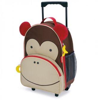 Skip Hop Zoo Kids Luggage - Monkey $65  45cm H x 30cm W x 17cm D