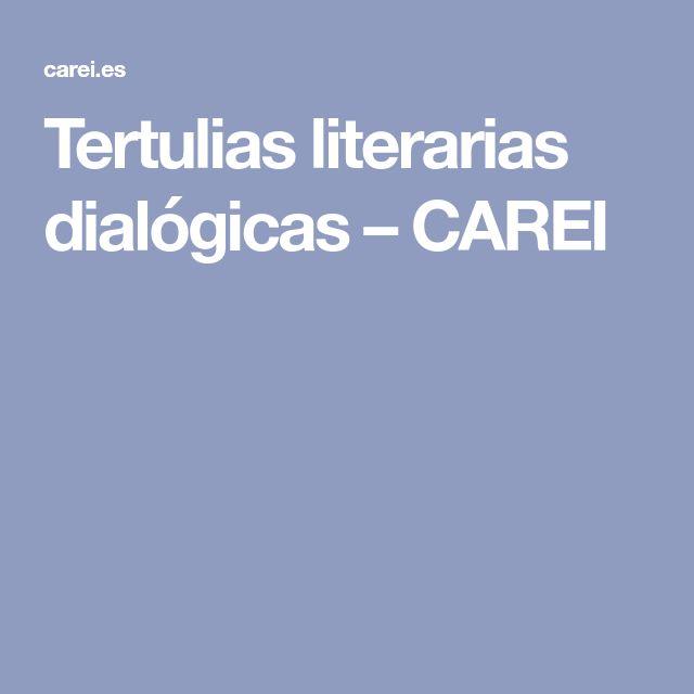 Tertulias literarias dialógicas – CAREI
