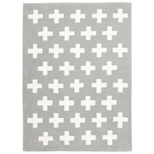 Designer Hand Tufted Rug - Eser - Grey - 220 x 150cm 4% OFF | $240.90 - Milan Direct