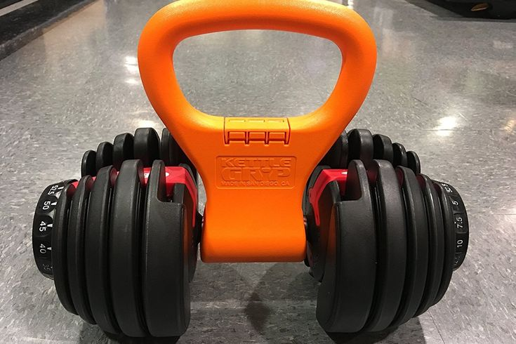 A kettlebell is a great addition to any home gym and workout routine. Can't afford to buy a whole new set of different style weights? No prob! This inexpensive solution turns any freehand weight into one with a kettlebell grip for a whole new workout!