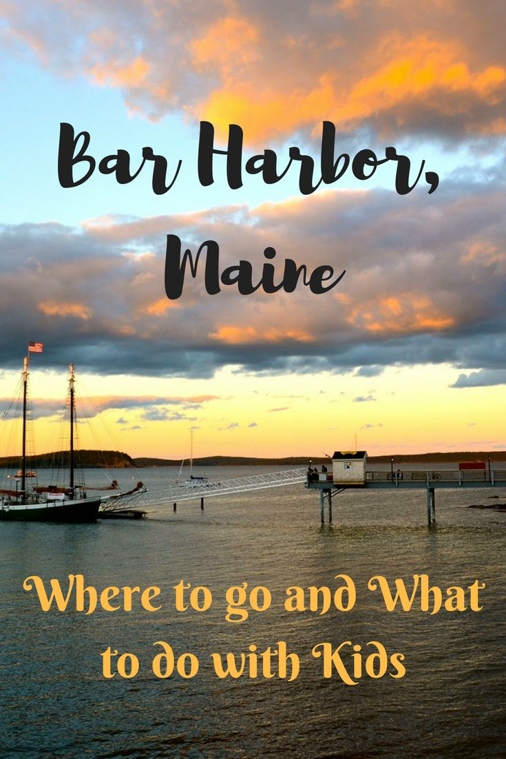 Bar Harbor, Maine is a popular summer destination in New England for so many reasons. It's on the water, it has the mountains, it's beautiful, and it has great restaurants and shopping. If you like adventure, this is the place. Acadia National Park is 5 minutes away, so your choice of outdoor activity is endless. It's a perfect place for a family vacation. #Maine #familyvacation #BarHarbor