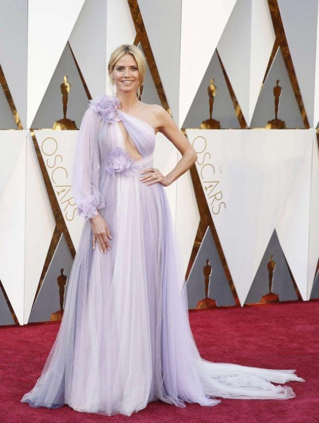 Волшебная Хайди Клум (Heidi Klum) на церемонии Oscar 2016