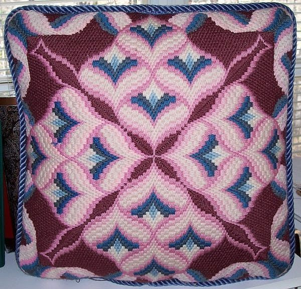How to Stitch Bargello Needlepoint