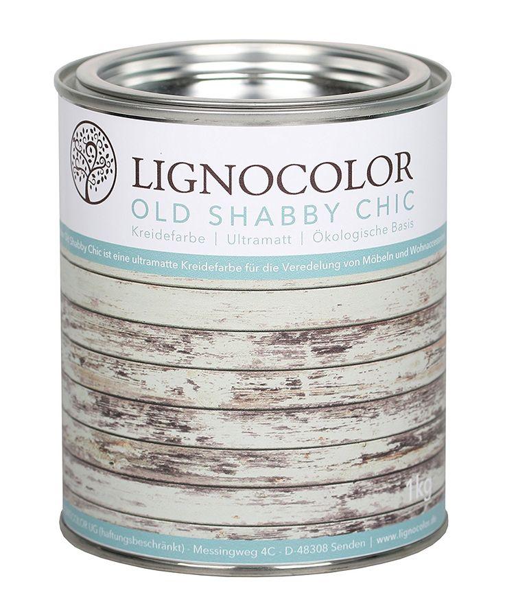 Kreidefarbe Shabby Chic Lack Landhaus Stil Vintage Look