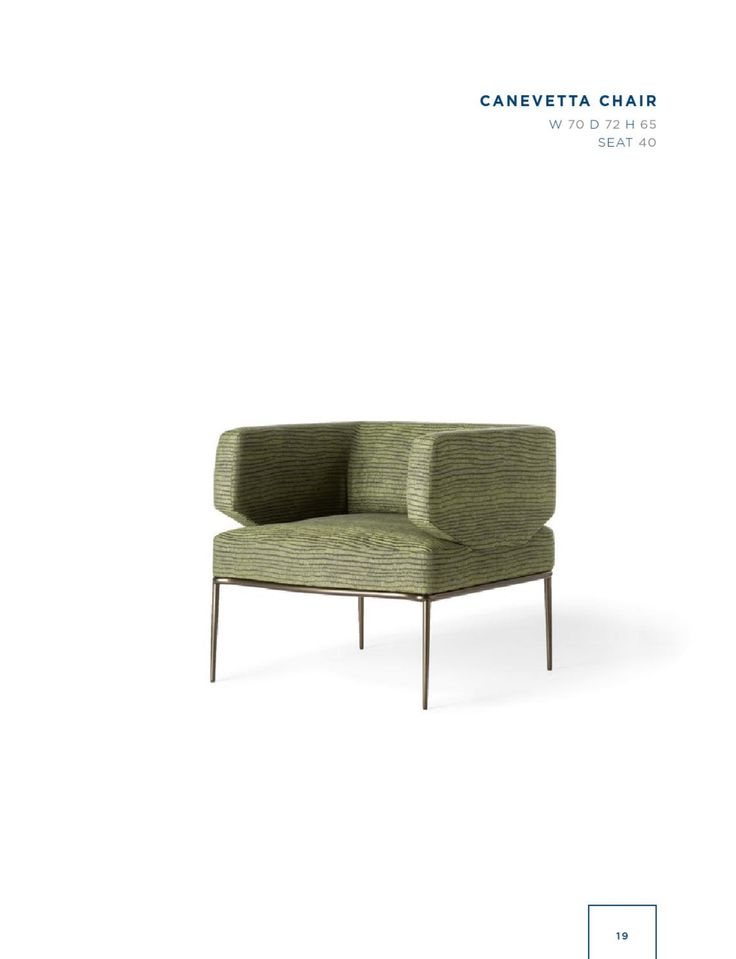 Rubelli Casa - Canevetta chair