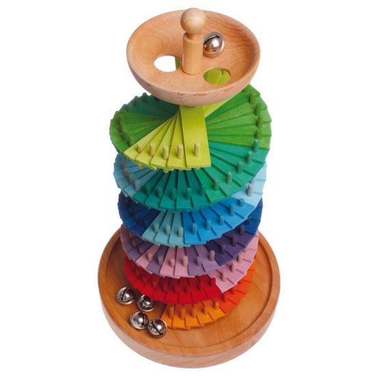 [Grimm's Spiel & Holz Design グリムス社]組み立て玉の塔