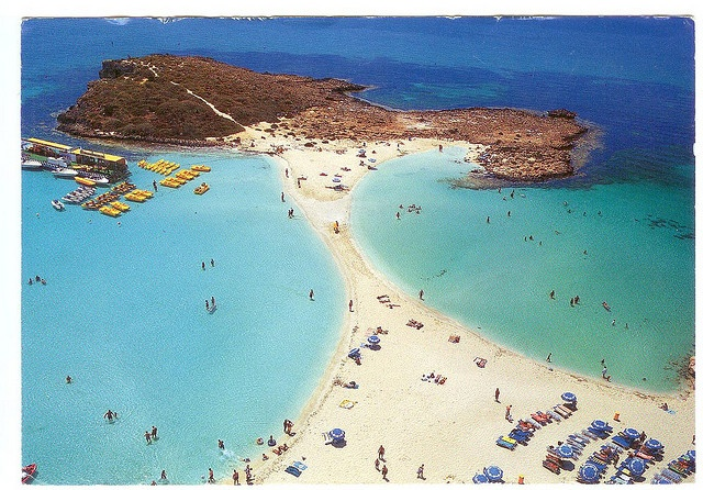 Nissi Beach, Ayia Napa,  Cyprus by kitten007, via Flickr