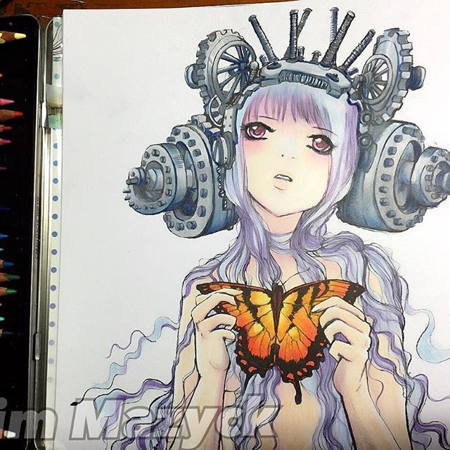 18 best pop manga colouring book images on Pinterest | Coloring ...