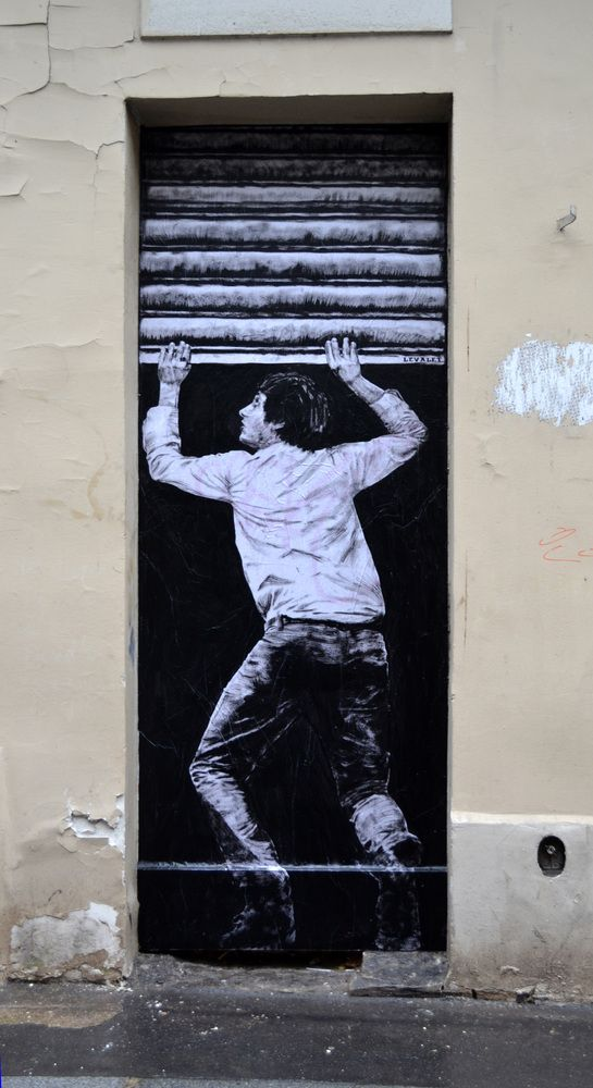 Levalet Street Art: French Artist Charles Leval Creates Clever Paste-Ups (PHOTOS)