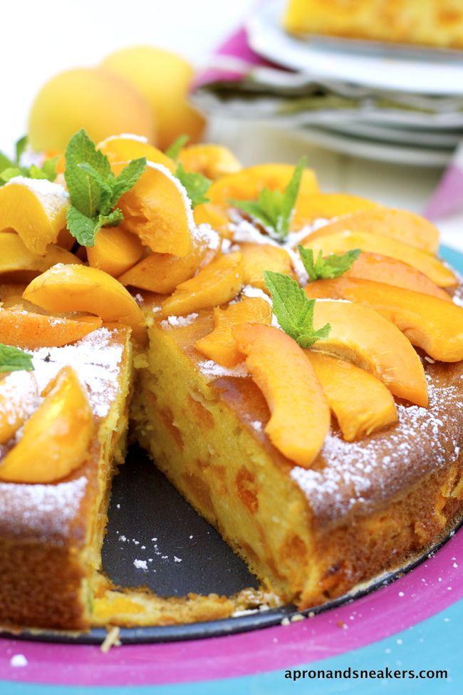 Apricot & Mascarpone Cake and San Vito di Cadore, Dolomites