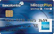 United-Copa   American Express mileage plus classic   Bancolombia