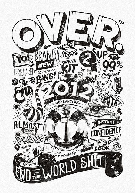 Typography Awesomeness by Sepra 4 Life | Abduzeedo Design Inspiration & Tutorials