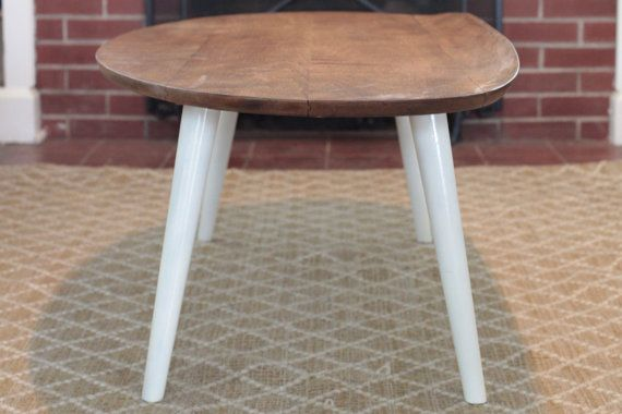 Mid Century Russell Wright for Conant Ball Surfboard Coffee Table
