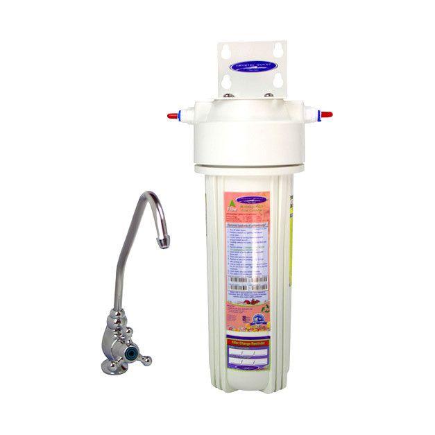 Alkalizing Single Under Sink Water Filter System