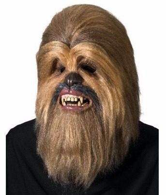 mascara de chewbacca star wars supreme ed.