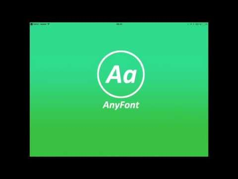 """Auf dem Ipad sind einige Schriftarten vorinstalliert. Man kann aber mit der App """"AnyFont"""" auch zusätzliche Fonts installieren und dann in jeder Textverarbeitung benutzen.Damit ist es zum Beis…"""