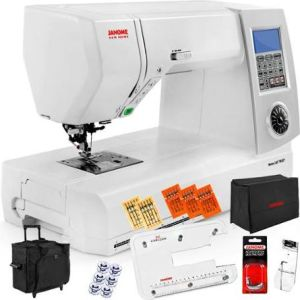 a new wonderful sewing and quilting machine from Janome