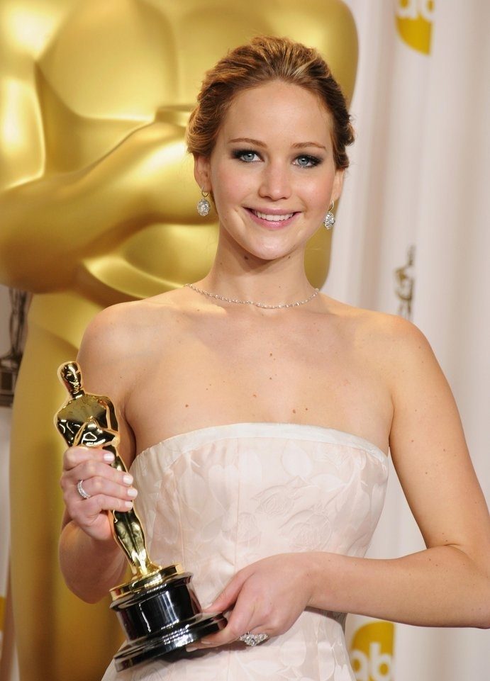 Jennifer Lawrence Oscar moment - best actress deserved