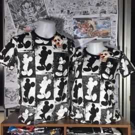 T-SHIRT FEMME MICKEY MOUSE MULTIFACE
