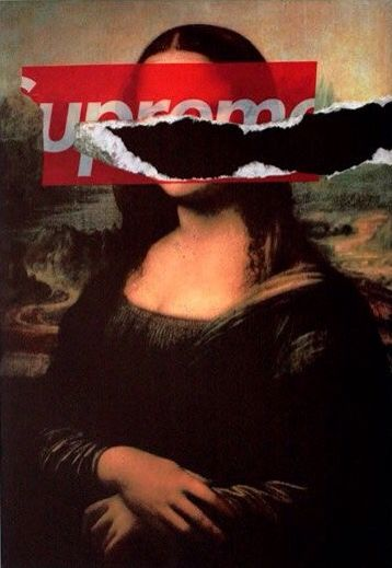 Supreme NYC Mona Lisa Tear