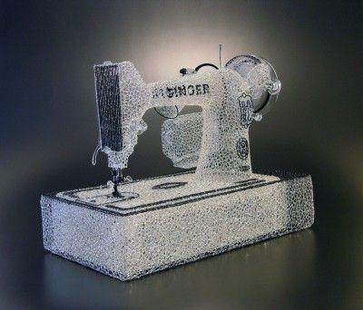 micah evans: glass sculpture storytelling