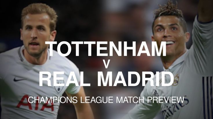 cool Tottenham v Real Madrid - Champions League Match Preview Check more at http://www.matchdayfootball.com/tottenham-v-real-madrid-champions-league-match-preview/