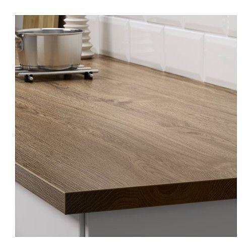 ekbacken countertop dark oak effect dark oak effect 74x1 1 8 kitchen pinterest countertop. Black Bedroom Furniture Sets. Home Design Ideas