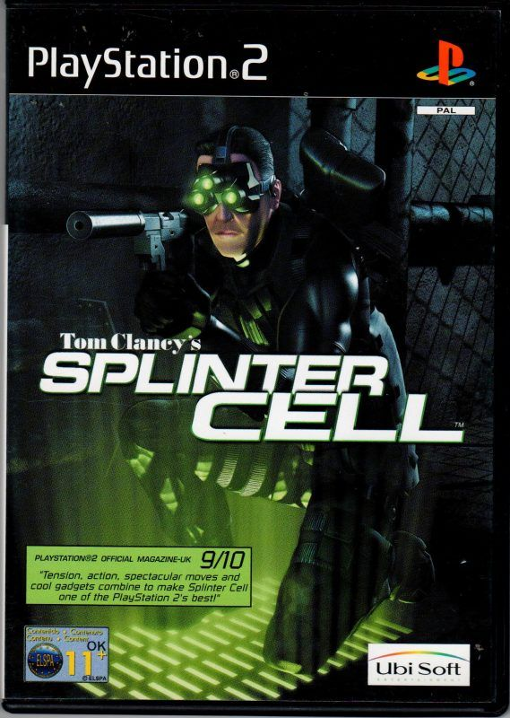 Splinter Cell Classic Video Games V Games Playstation Games