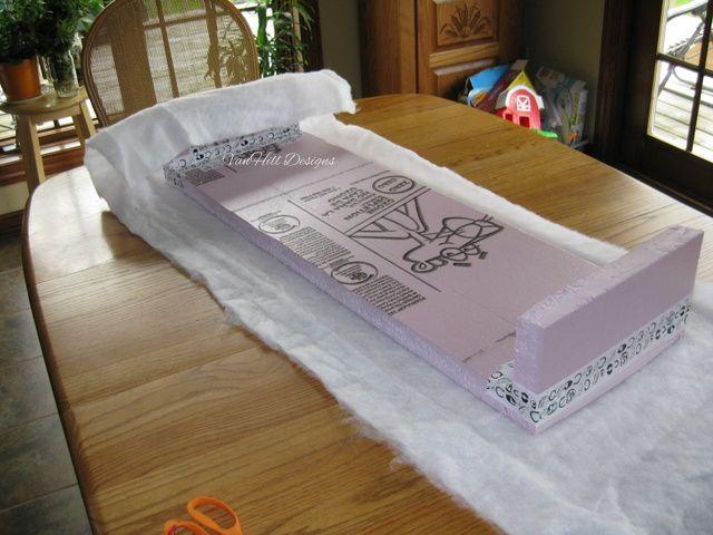 Cornice Boards out of Foam Core Insulation Boards | VanHill Designs